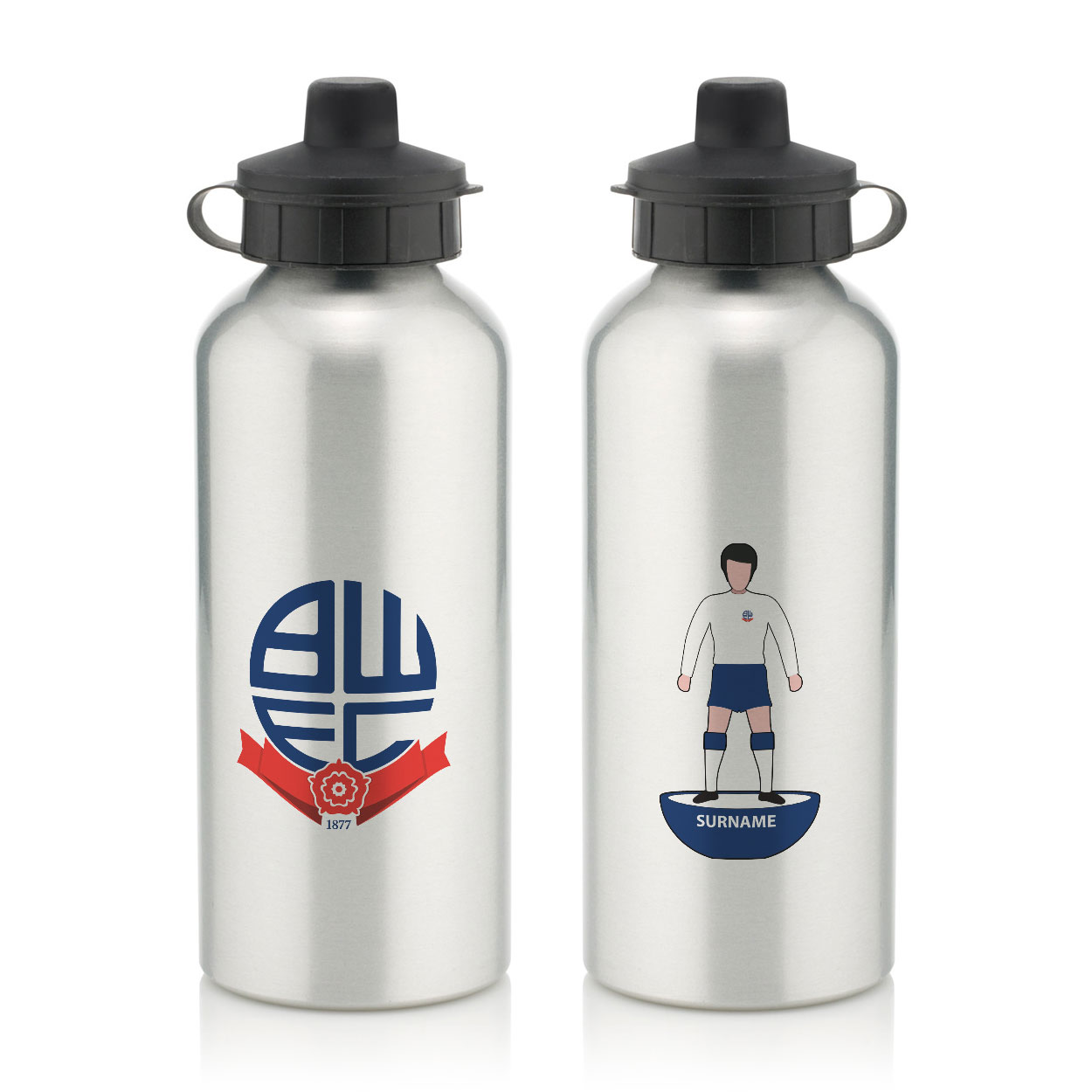 Bolton Wanderers Player Figure Water Bottle