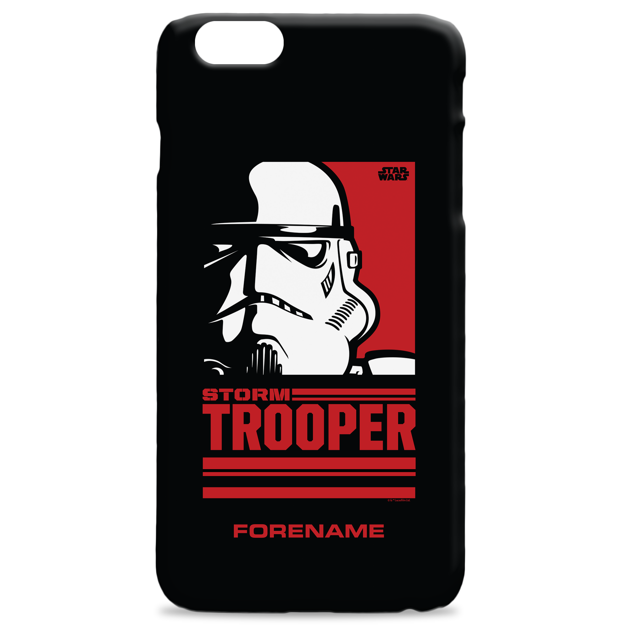 Star Wars Storm Trooper Pop Art Phone Case