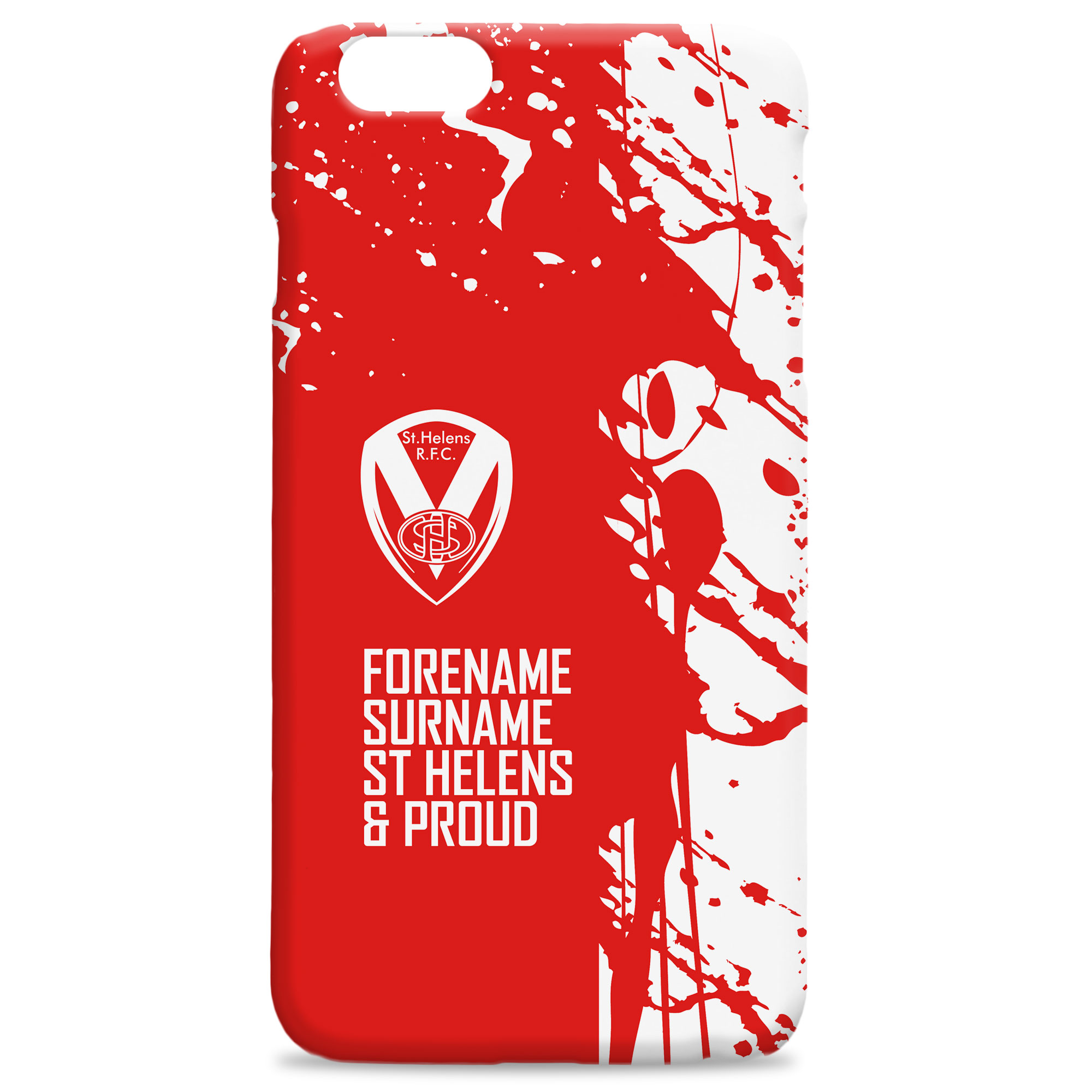 St Helens Proud Hard Back Phone Case