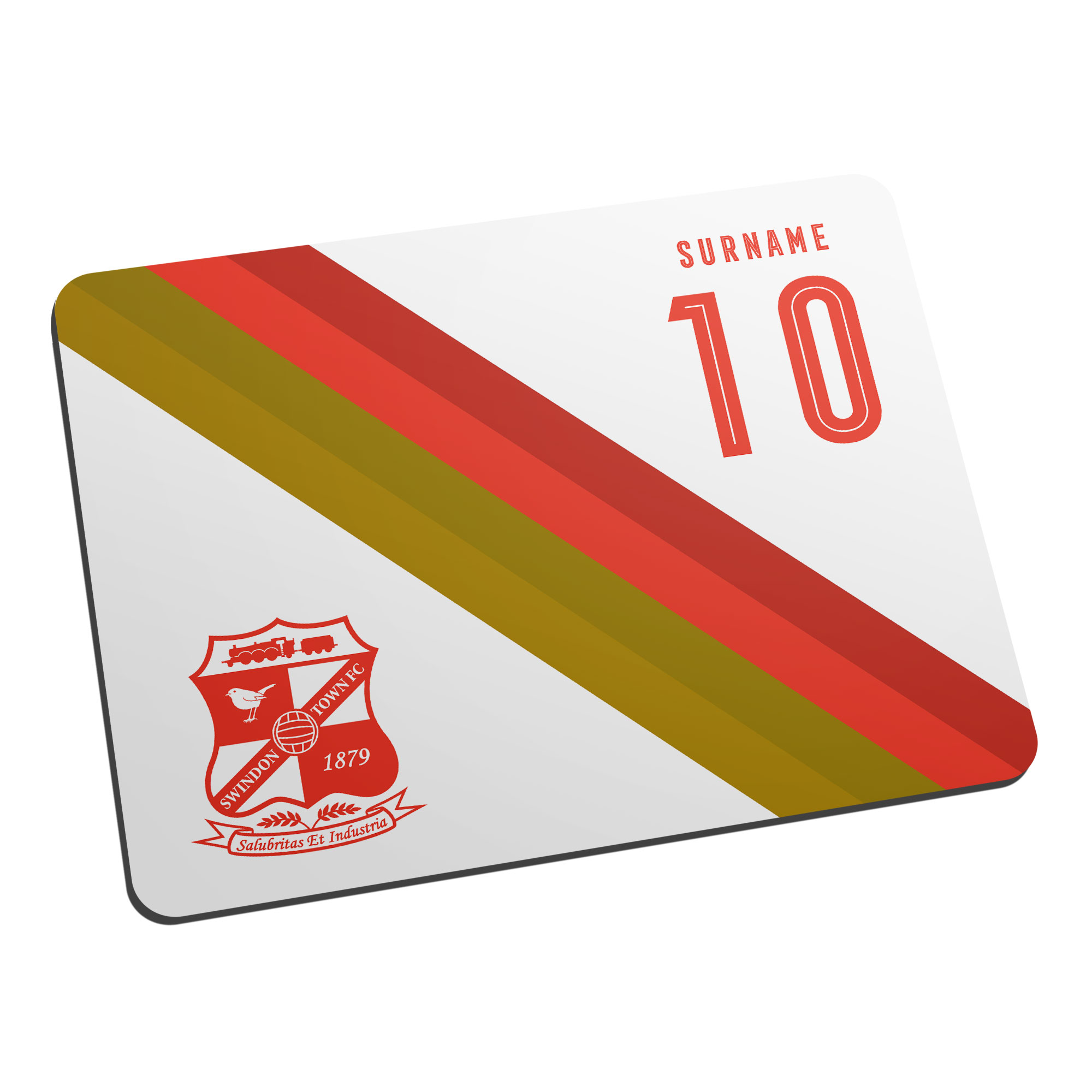 Swindon Town Stripe Mouse Mat