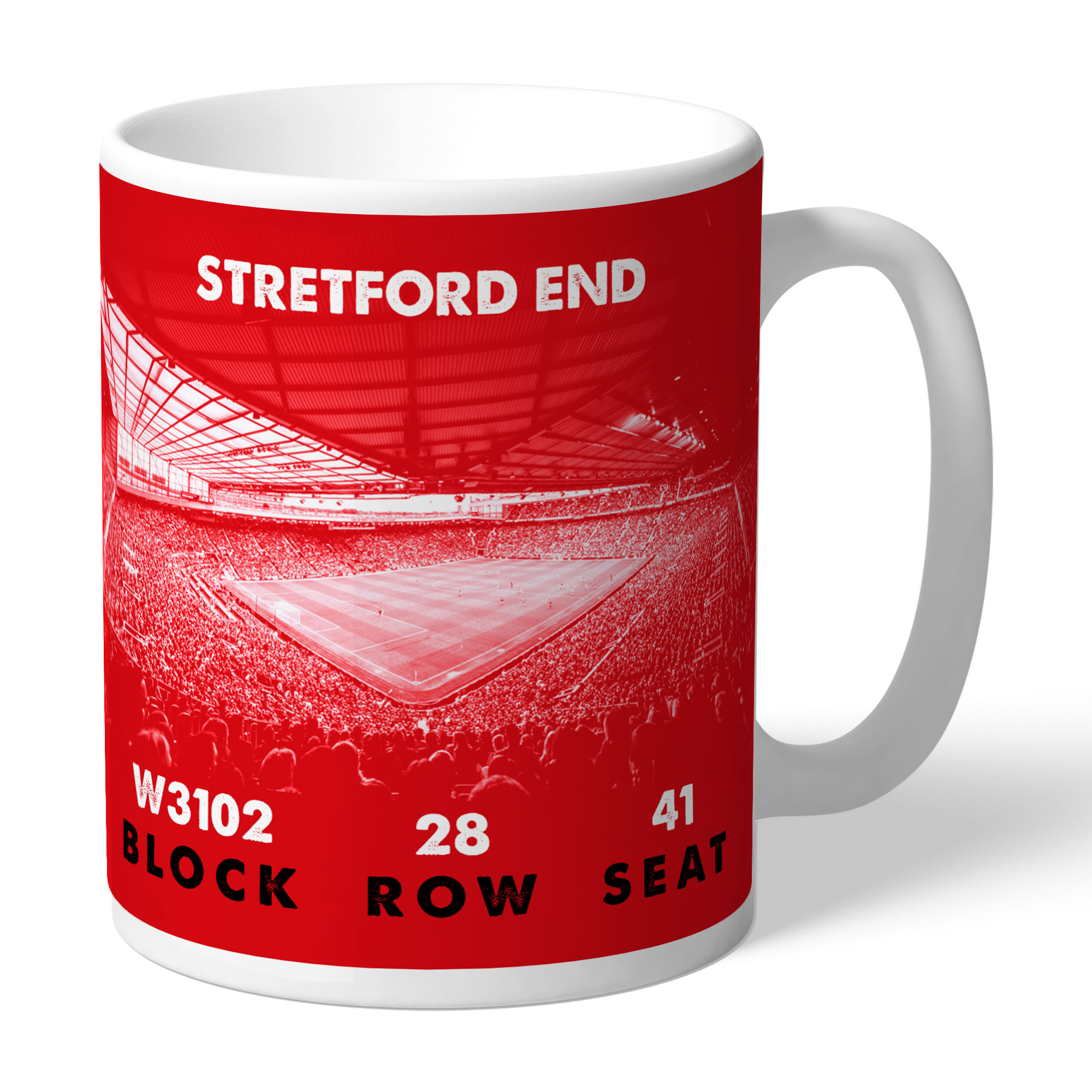 Manchester United FC My Seat in Old Trafford Mug