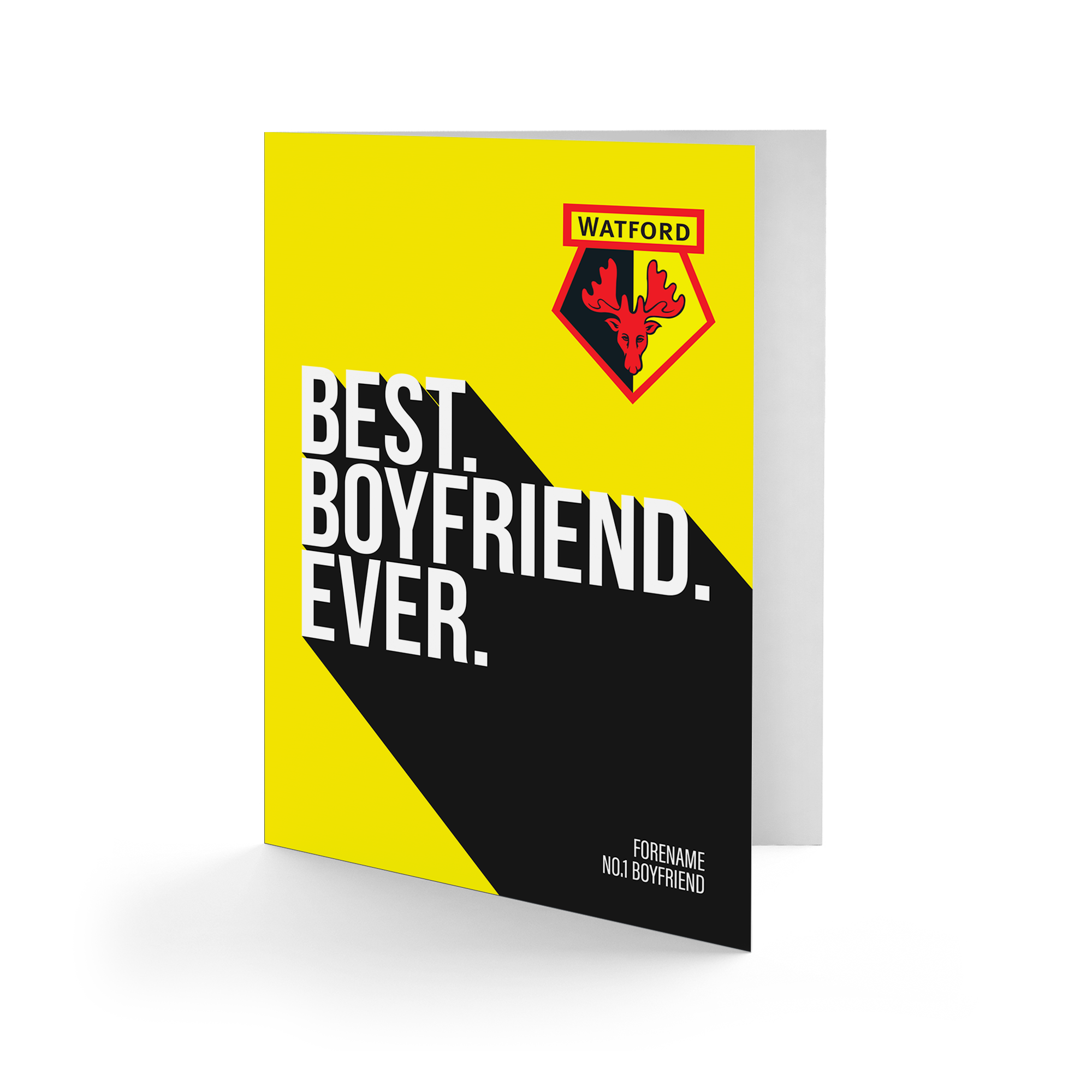 Watford FC Best Boyfriend Ever Card