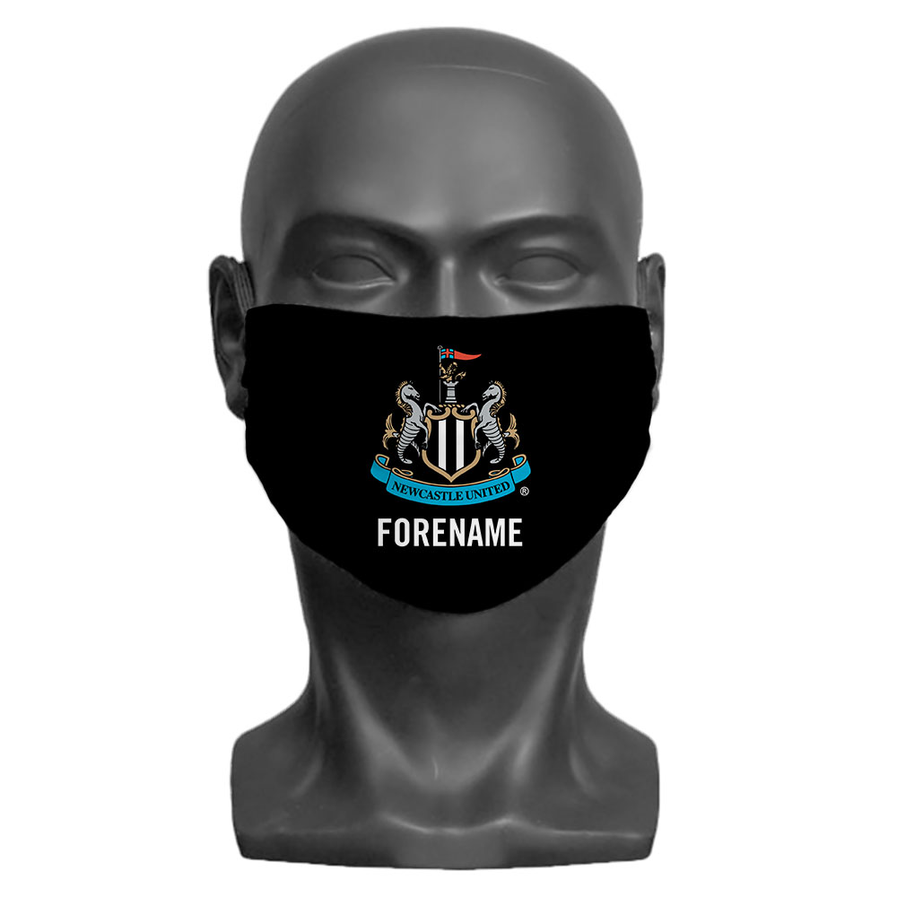 Newcastle United FC Crest Adult Face Mask (Large)