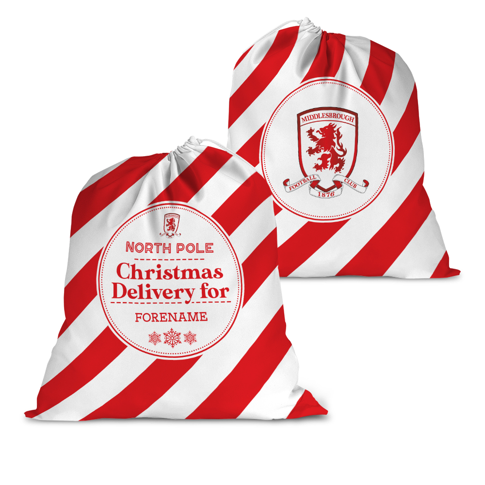 Middlesbrough FC Christmas Delivery Santa Sack