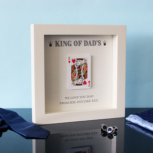 King of Dads - Hand Finished Print Angle