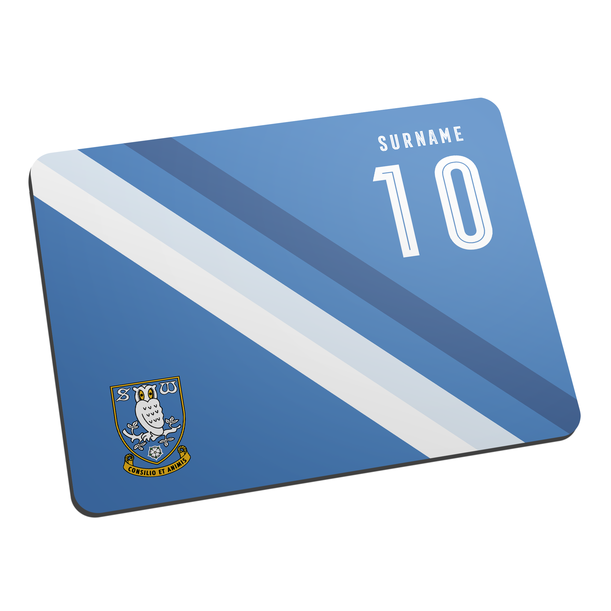 Sheffield Wednesday Stripe Mouse Mat