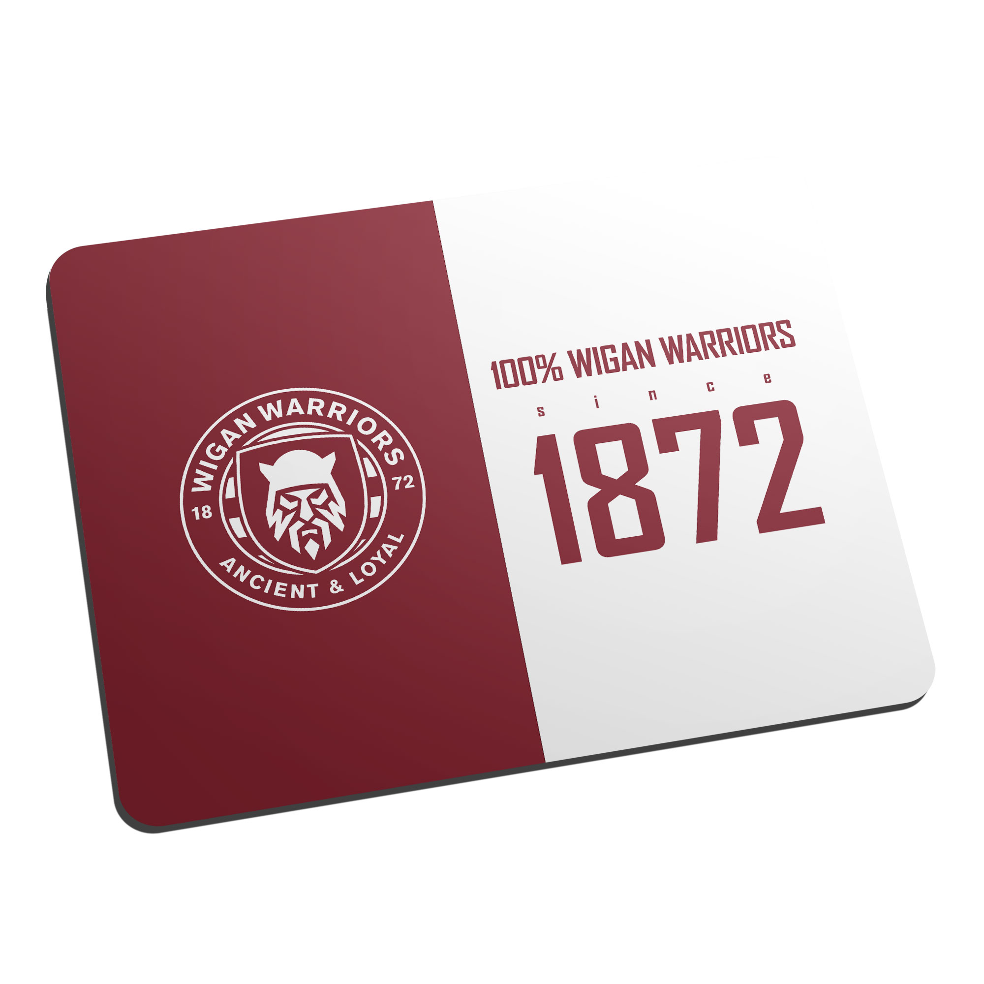 Wigan Warriors 100 Percent Mouse Mat