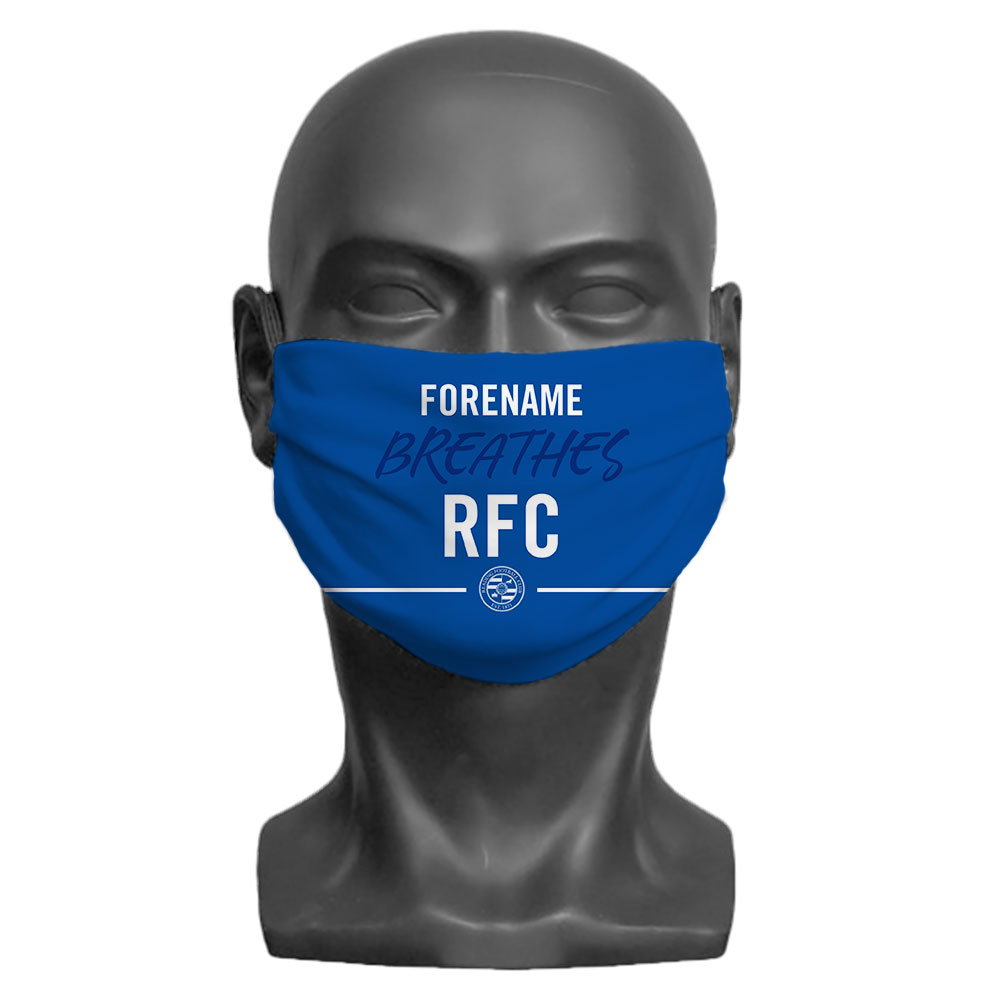 Reading FC Breathes Adult Face Mask (Large)