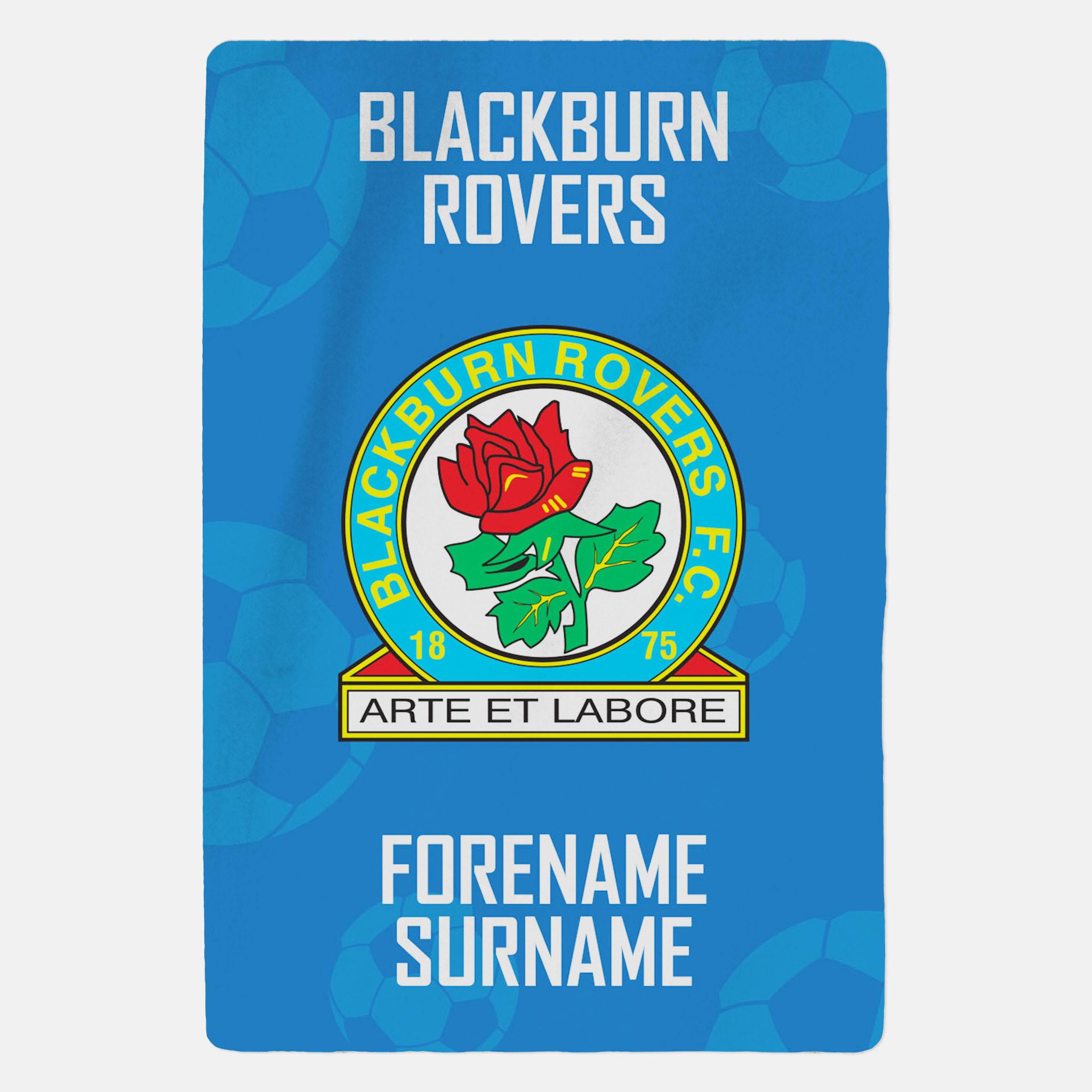 Blackburn Rovers FC Crest Blanket
