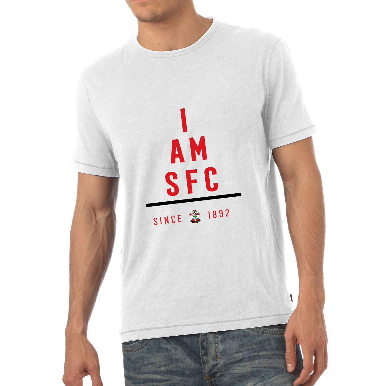 Southampton FC I Am Mens T-Shirt