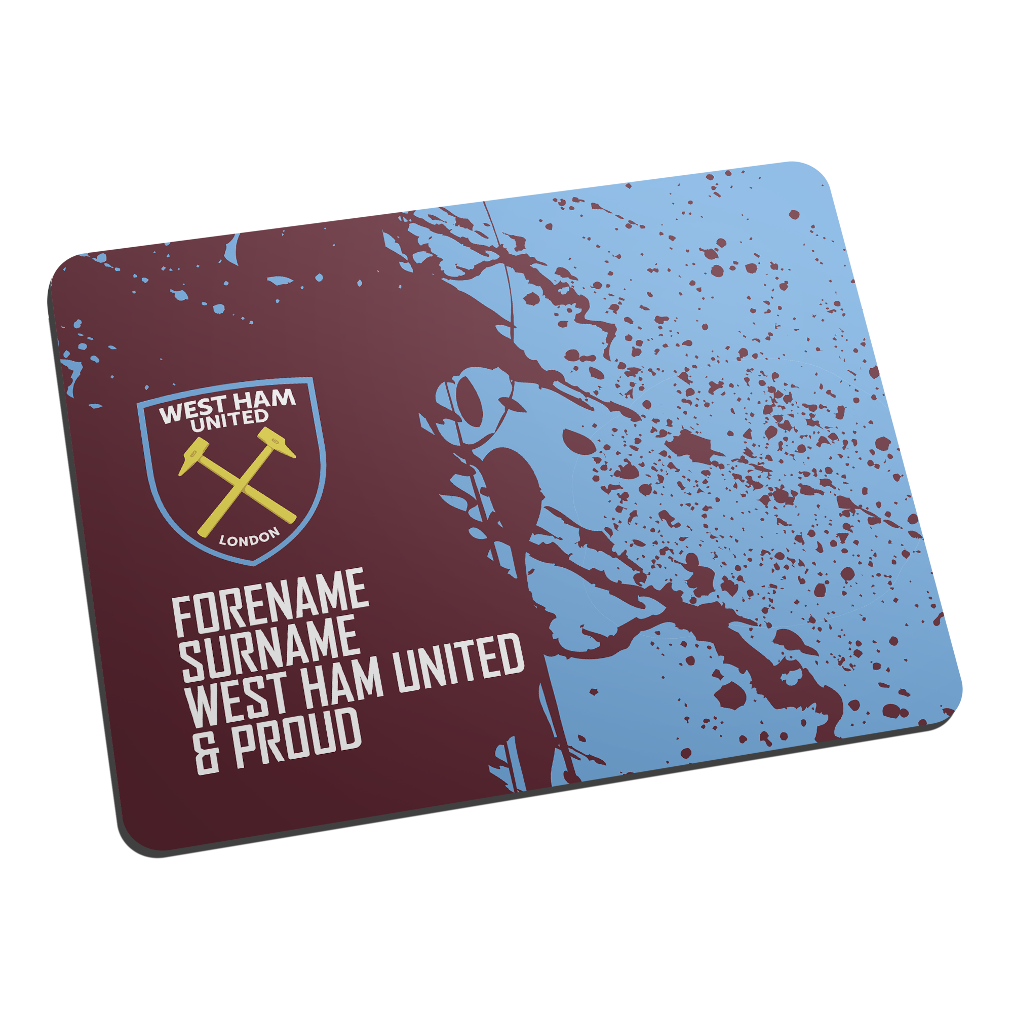 West Ham United FC Proud Mouse Mat
