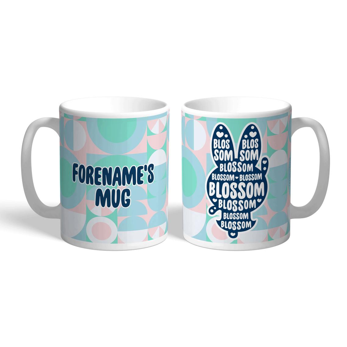 Powerpuff Girls Blossom Silhouette Mug