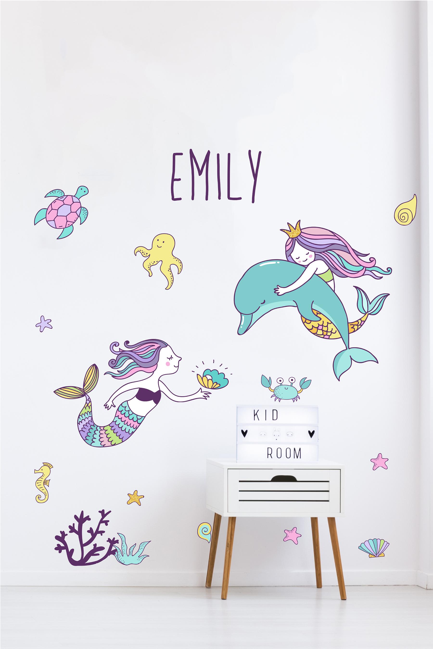 Mermaid Sticker Set