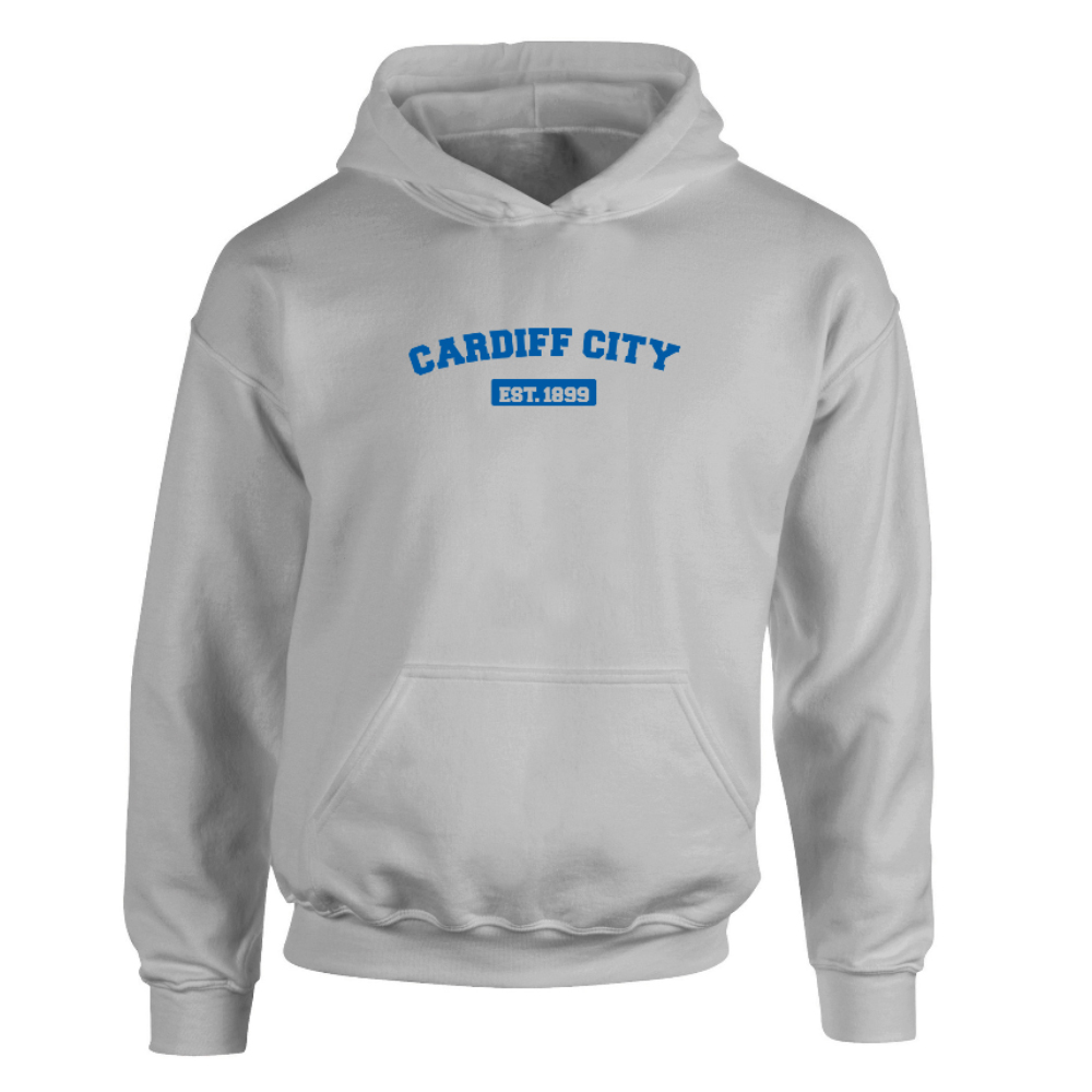 Cardiff City FC Varsity Established Hoodie