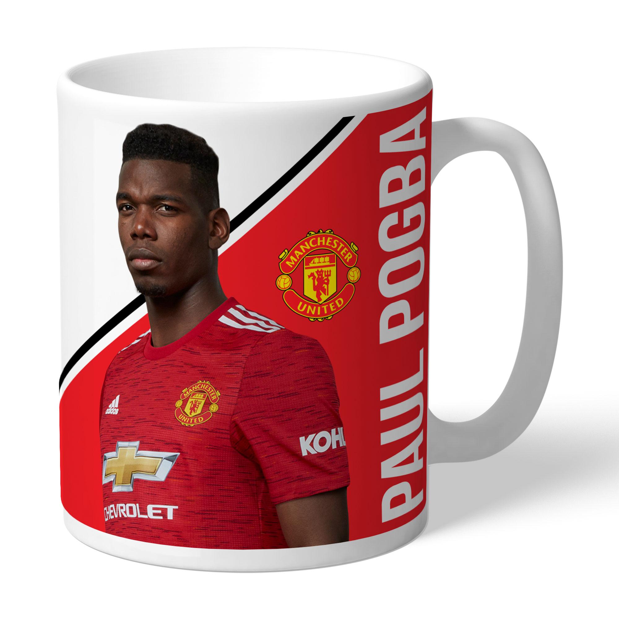 Manchester United FC Pogba Autograph Mug