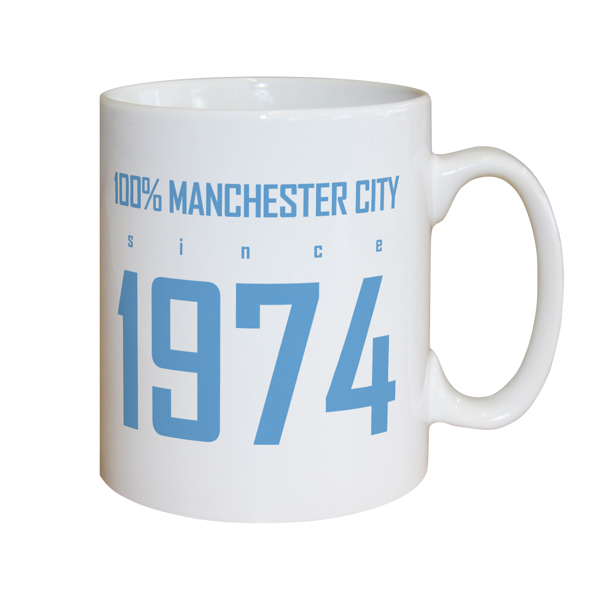 Manchester City FC 100 Percent Mug