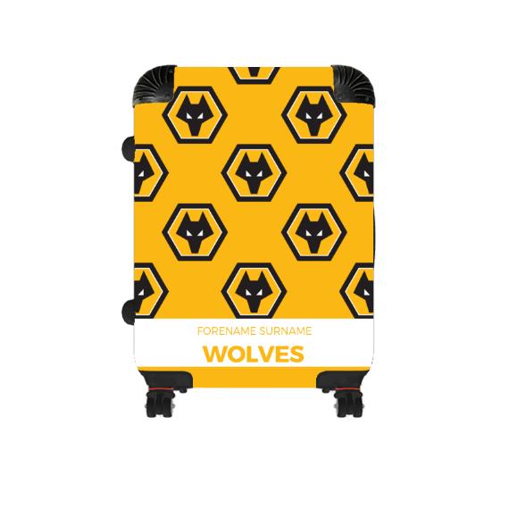 Wolverhampton Wanderers FC Mini Crest Cabin Suitcase