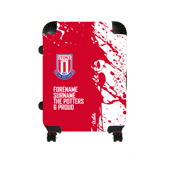 Stoke City FC Proud Medium Suitcase
