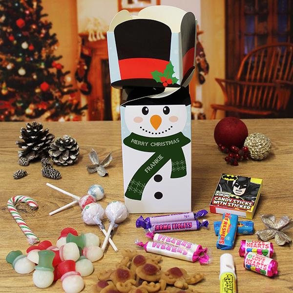 Snowman Sweetie Box