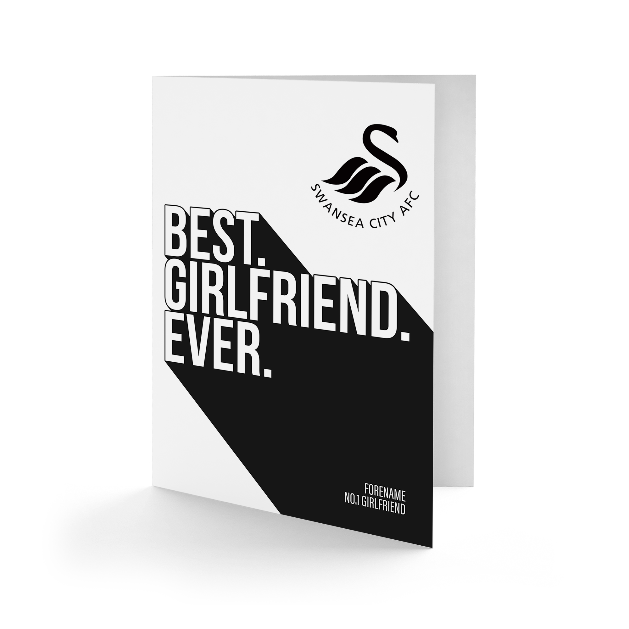 Swansea City AFC Best Girlfriend Ever Card