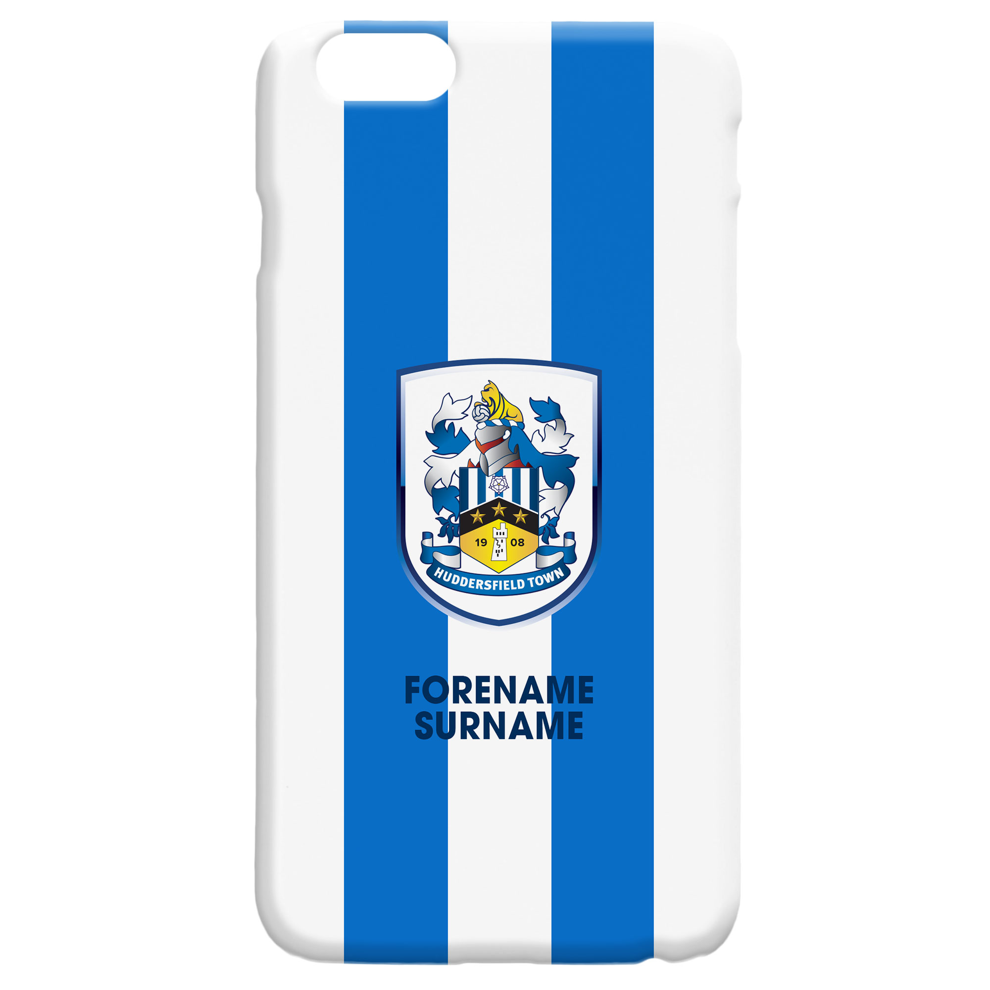 Huddersfield Town Bold Crest Hard Back Phone Case