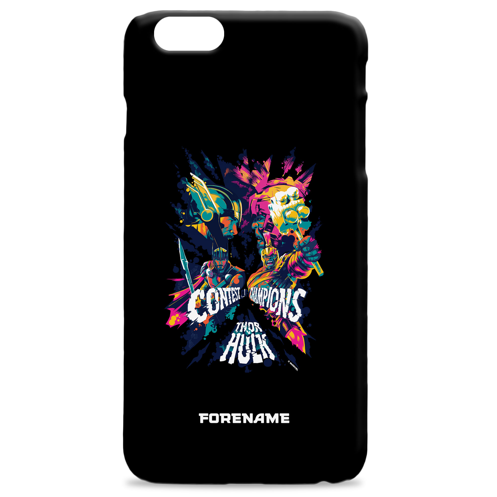 Marvel Thor Ragnarok Colour Badge Phone Case