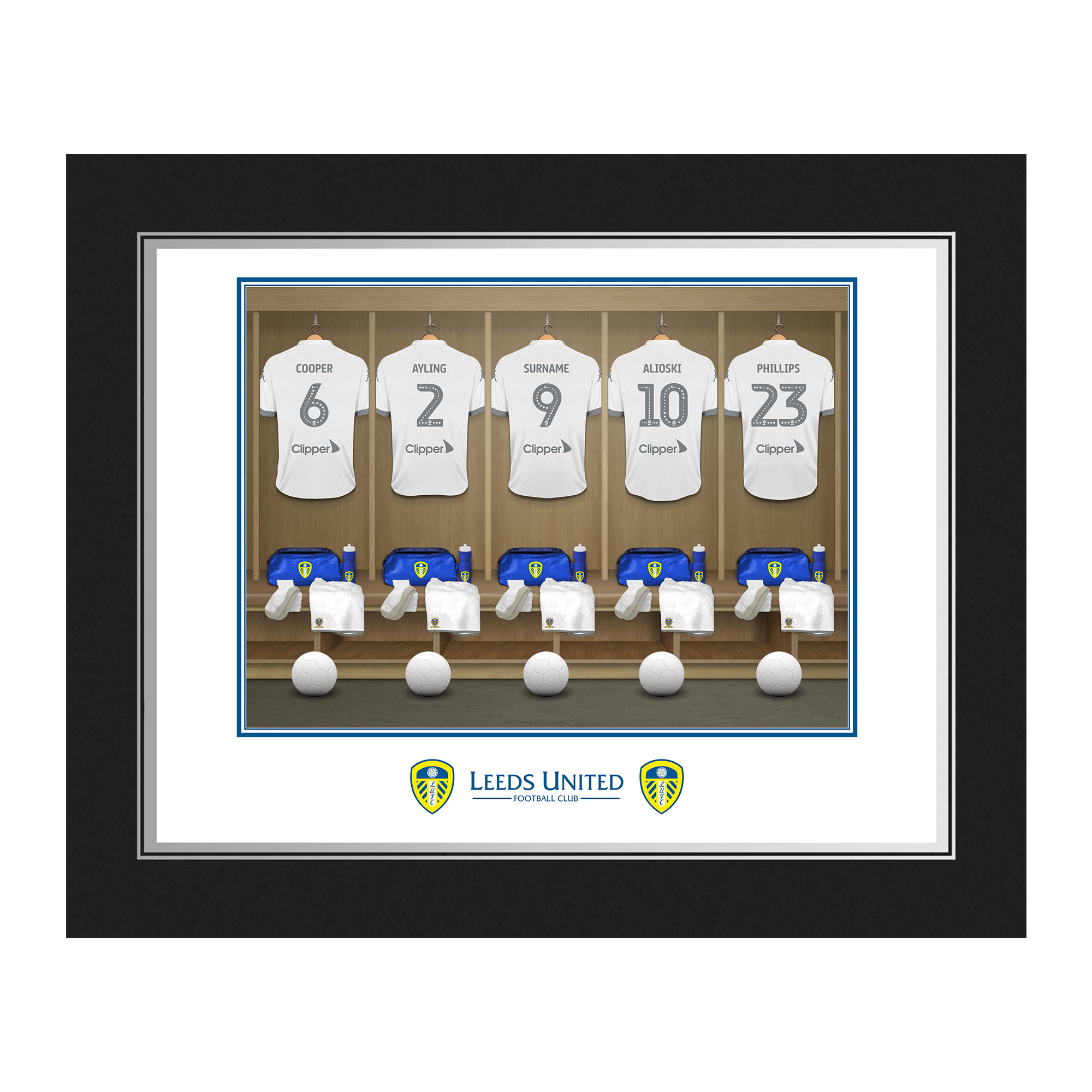 Leeds United FC Dressing Room Photo Folder