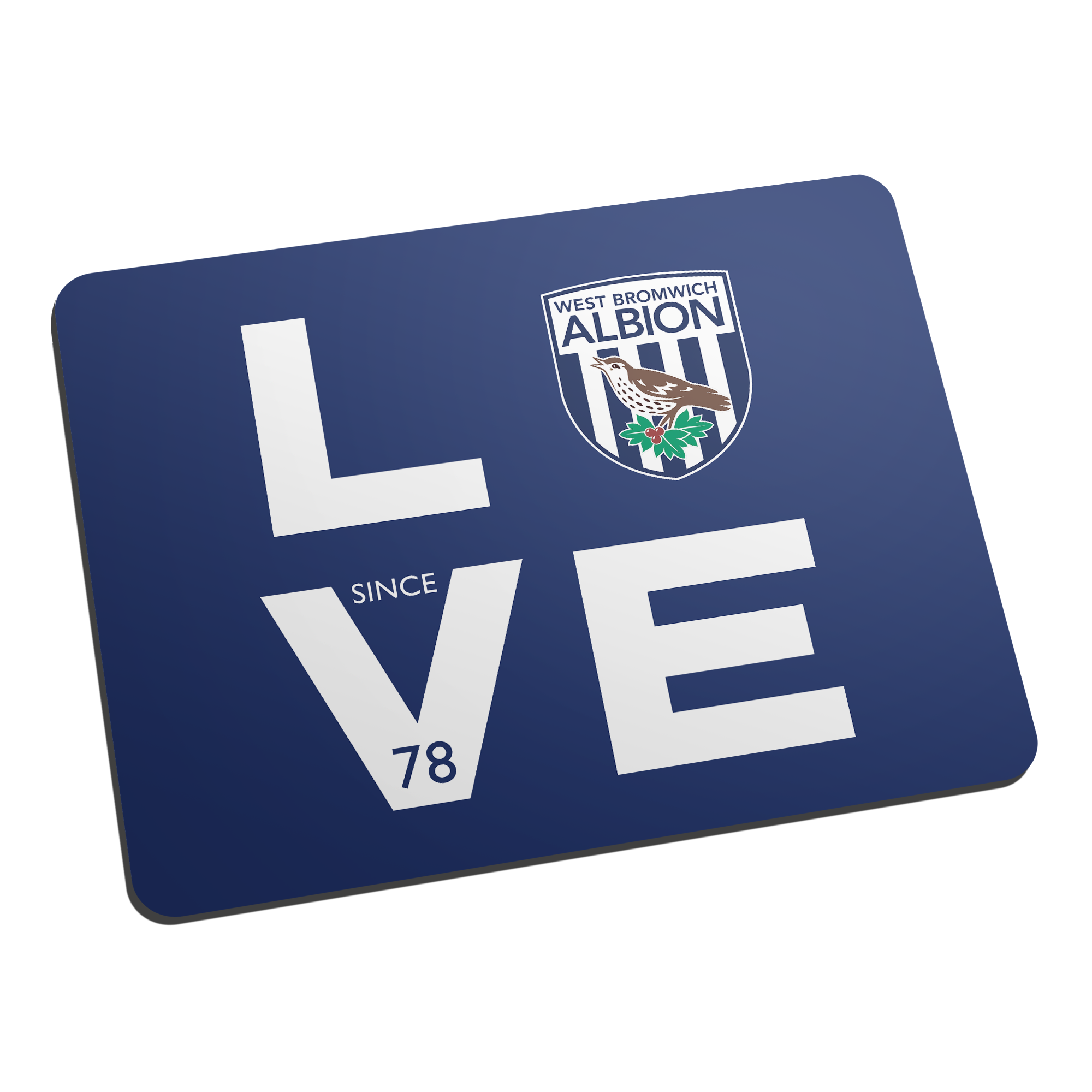 West Bromwich Albion FC Love Mouse Mat