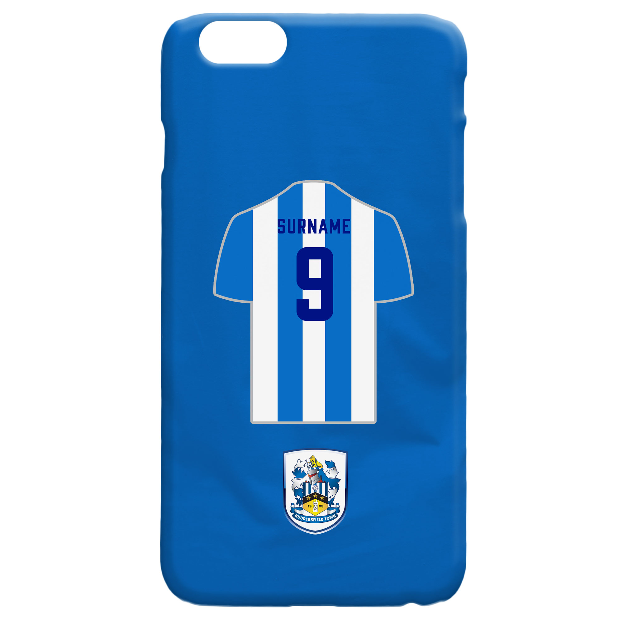 Huddersfield Town Shirt Hard Back Phone Case