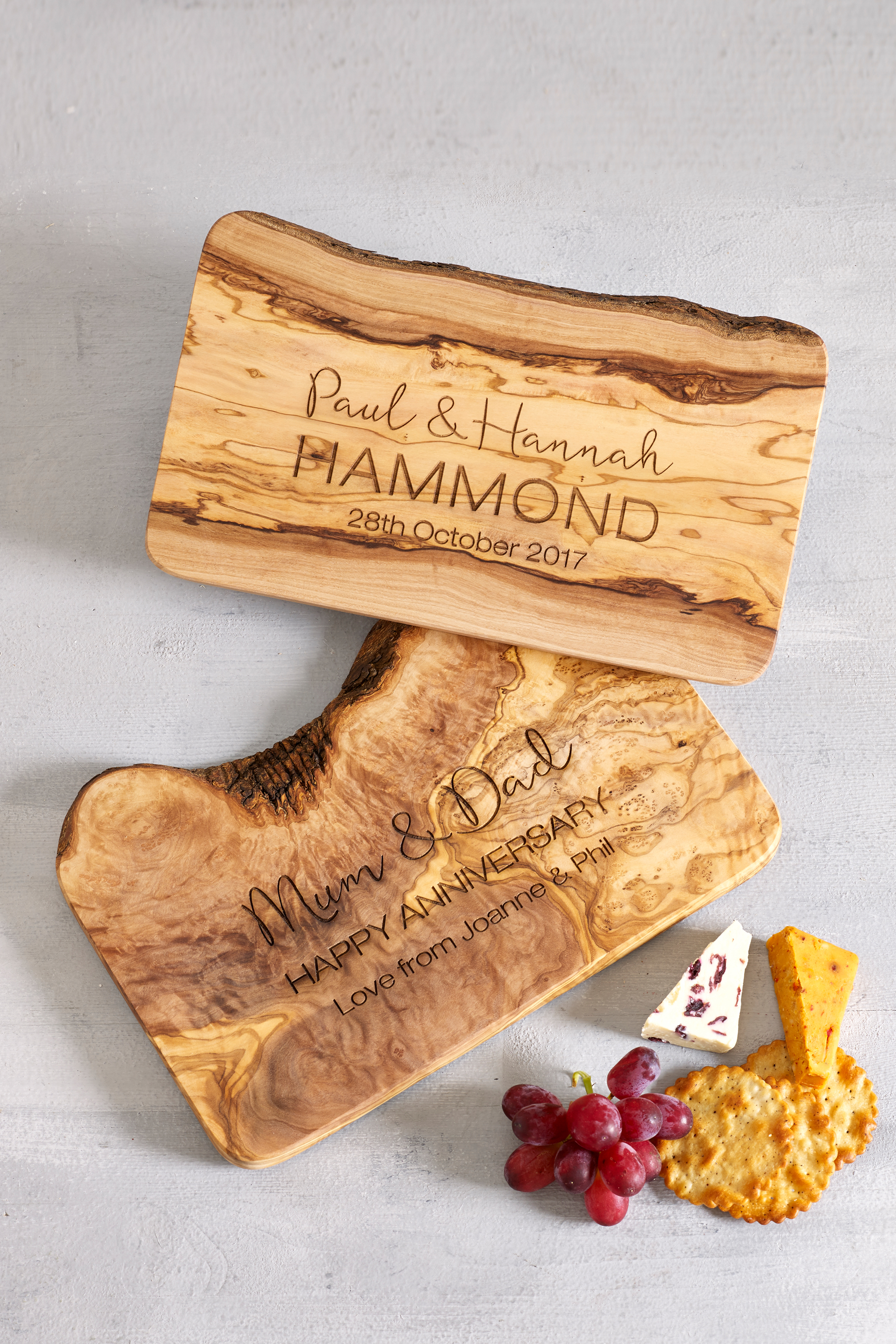 Olivewood Cheeseboards