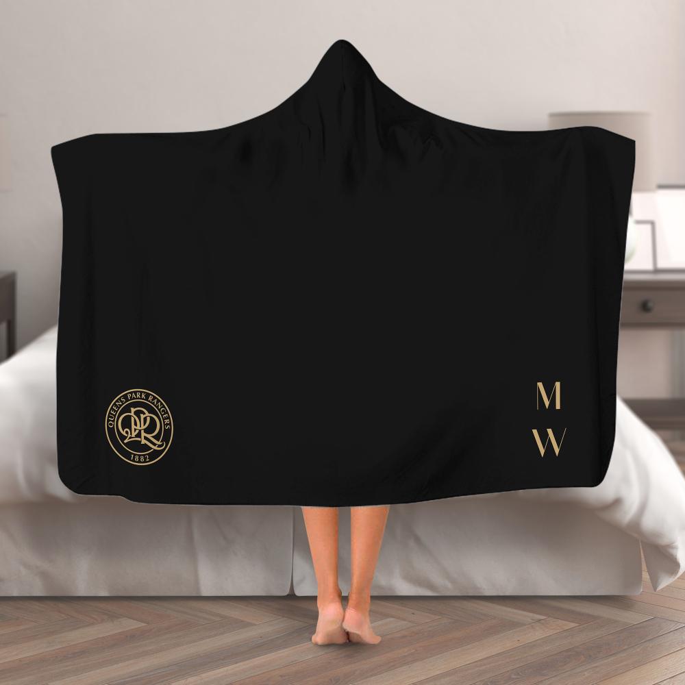 Queens Park Rangers FC Initials Hooded Blanket (Adult)