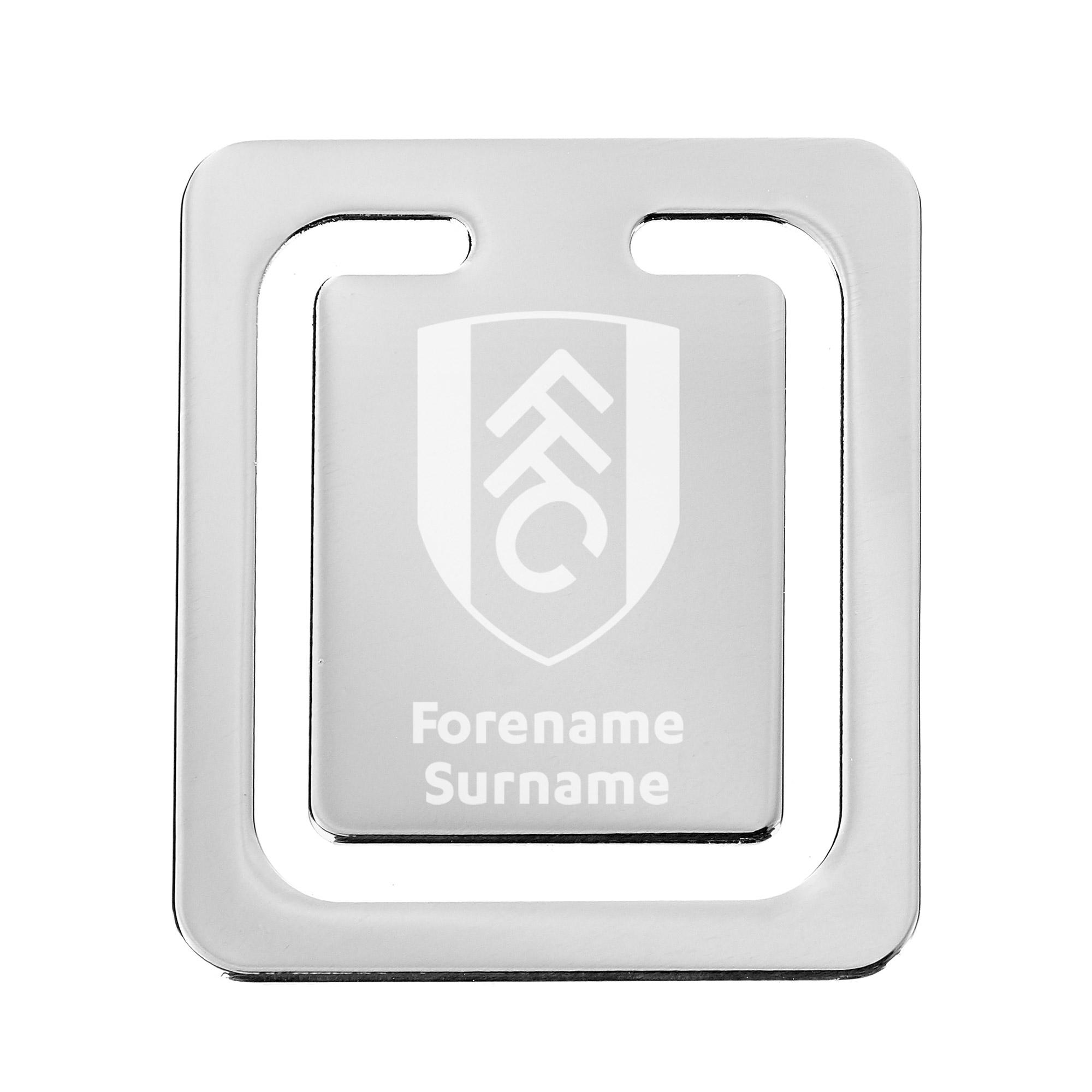 Fulham FC Crest Bookmark