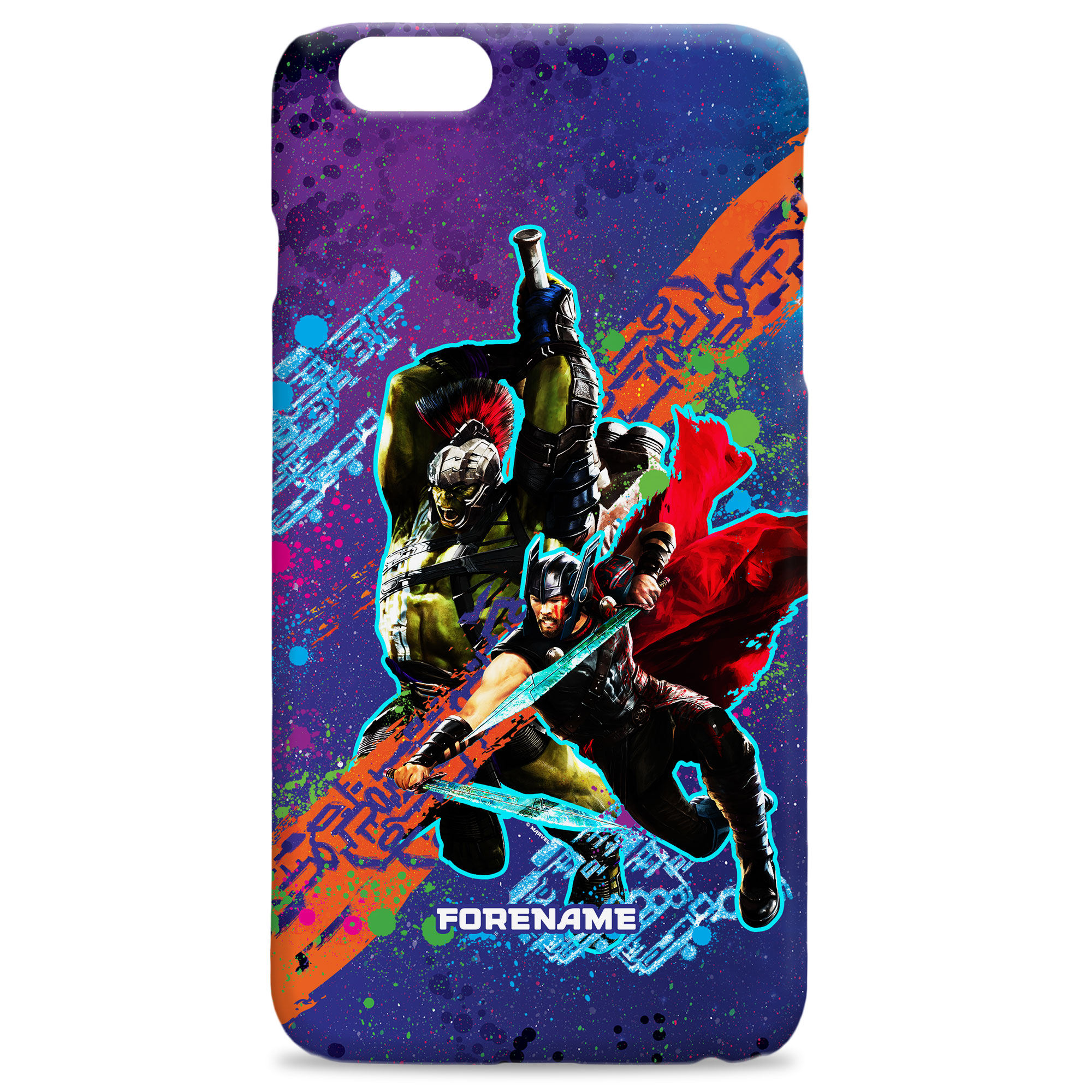 Marvel Thor Ragnarok Colour Splash Phone Case
