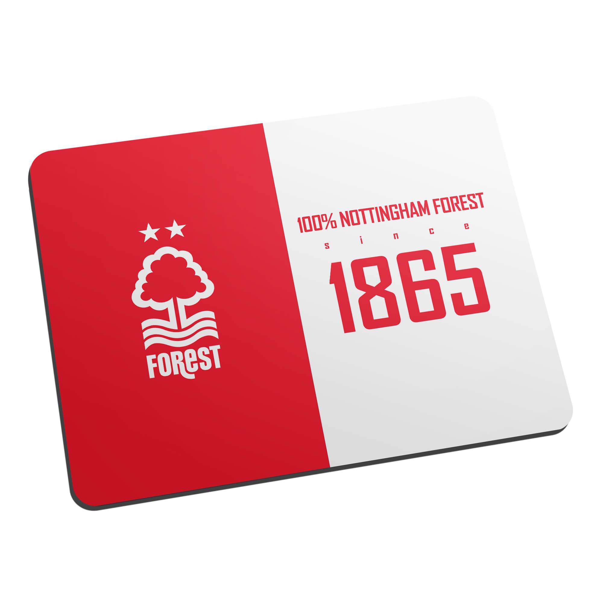Nottingham Forest FC 100 Percent Mouse Mat