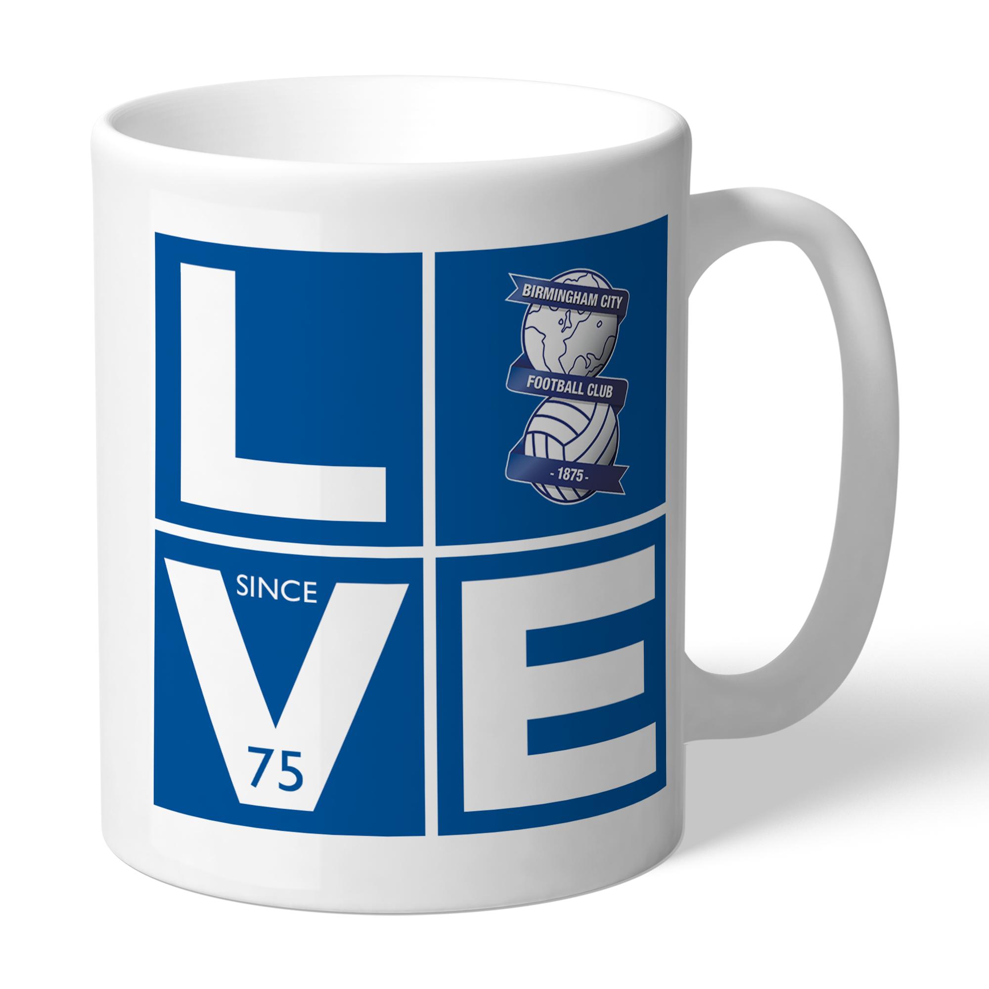 Birmingham City Love Mug