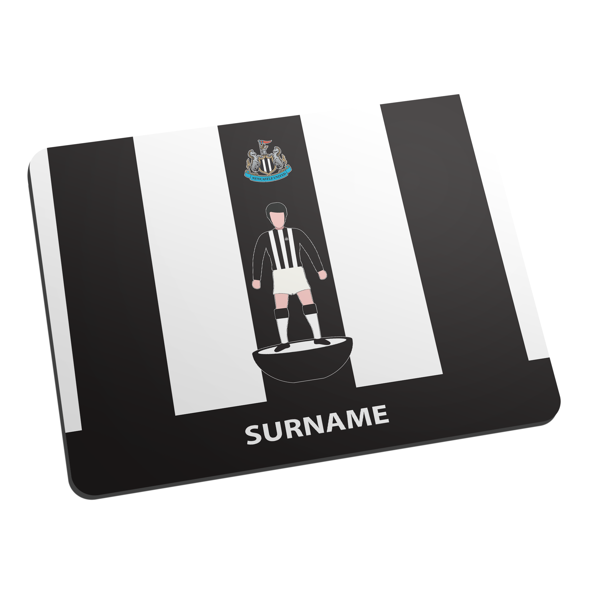 Newcastle United FC Player Figure Mouse Mat