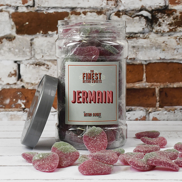Giant Strawberries Sweet Jar
