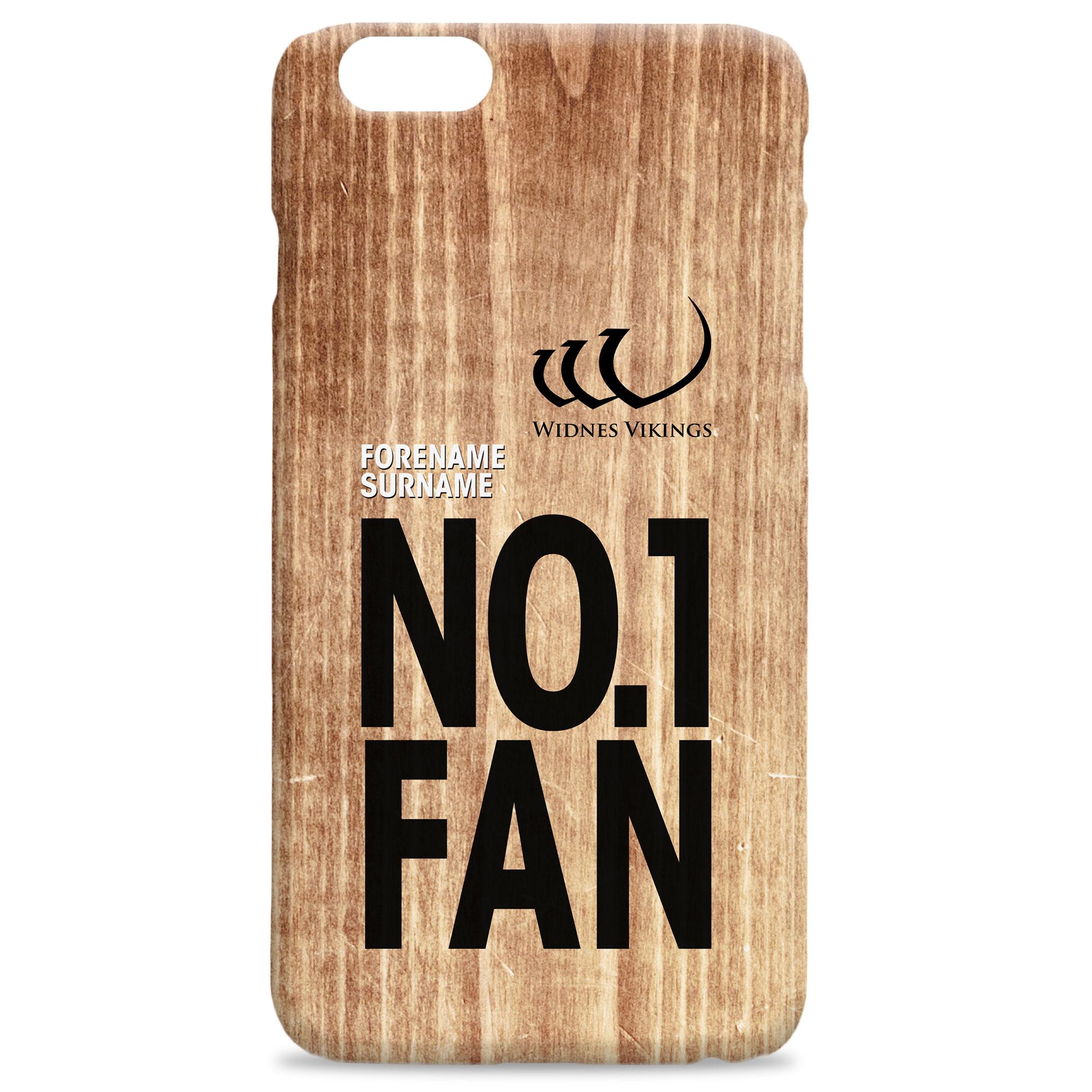 Widnes Vikings No 1 Fan Hard Back Phone Case