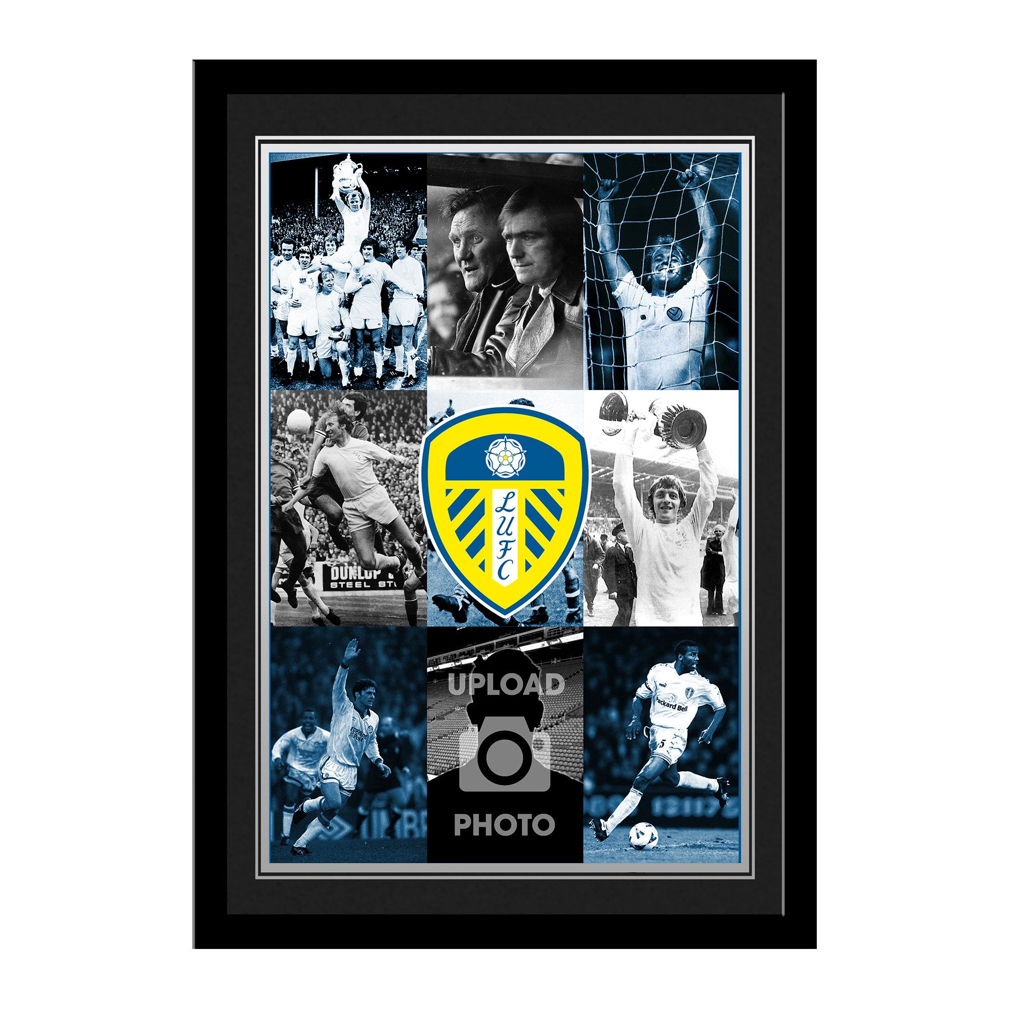 Leeds United FC  Legends Photo Print