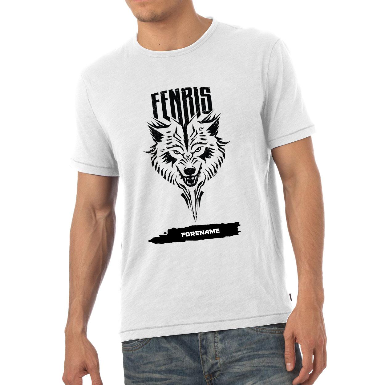 Marvel Thor Ragnarok Fenris Badge Mens T-Shirt