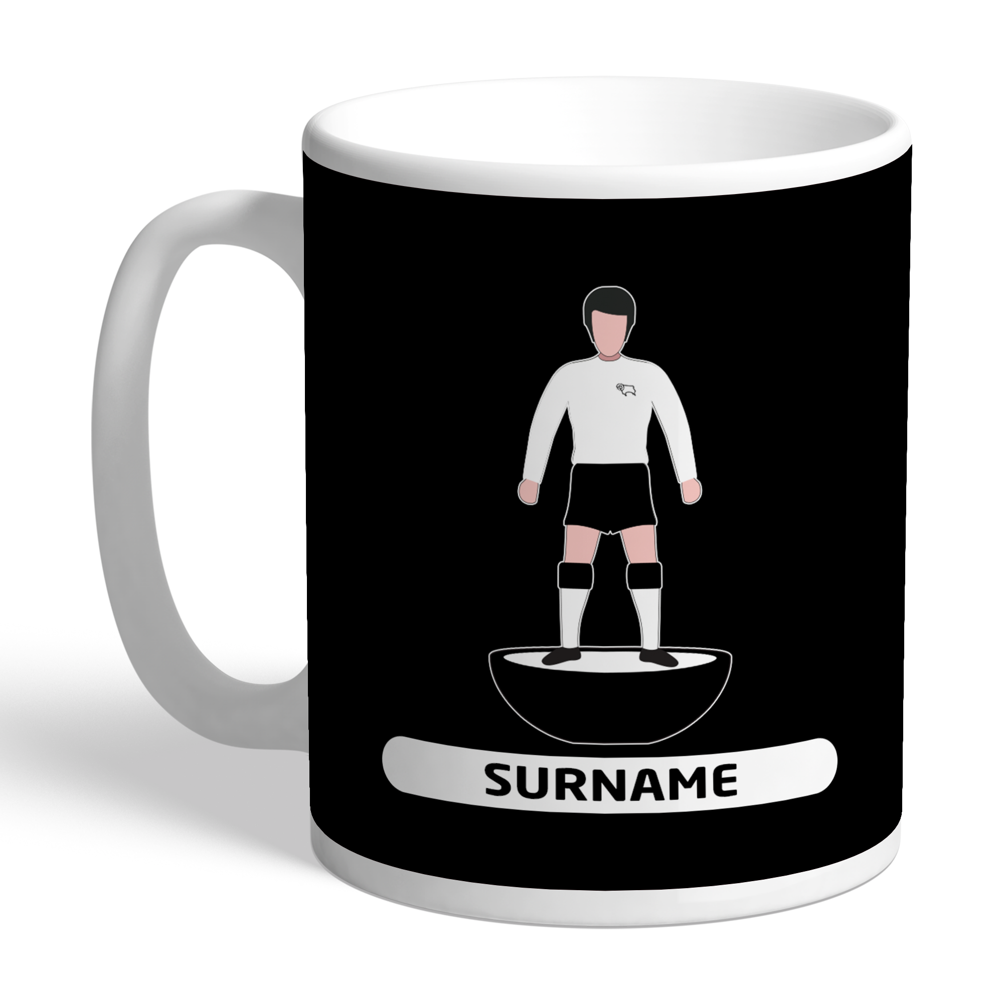 Derby County Player Figure Mug