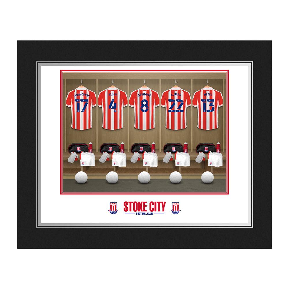 Stoke City FC Dressing Room Photo Folder
