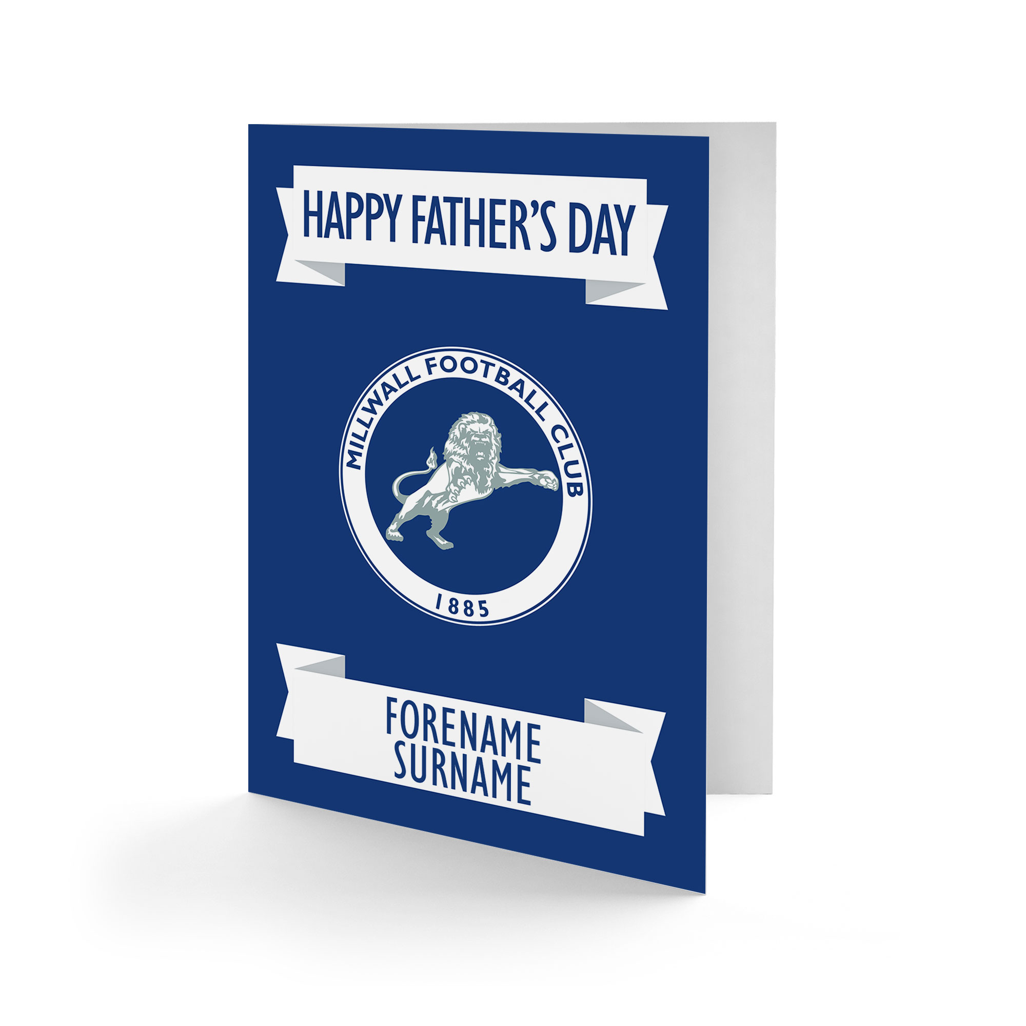 Millwall FC Crest Father's Day Card