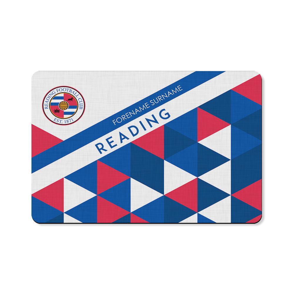 Reading FC Patterned Floor Mat
