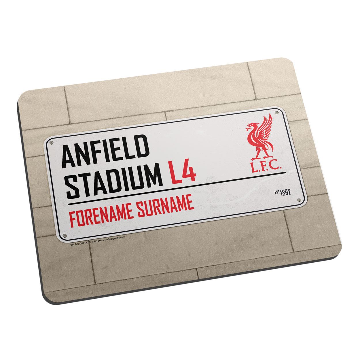 Liverpool FC Street Sign Mouse Mat