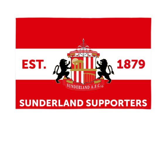 Sunderland Supporters 6ft x 4ft Banner