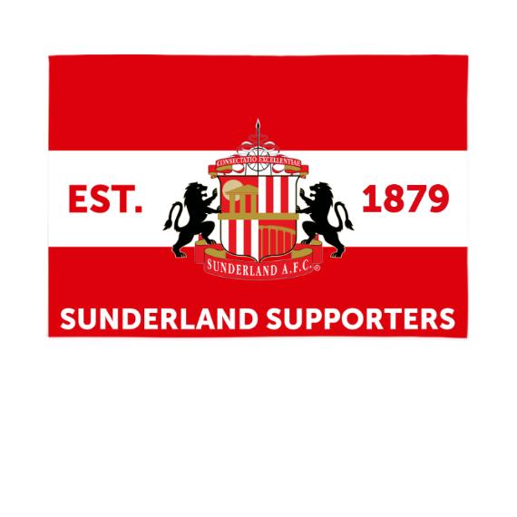 Sunderland Supporters 6ft x 4ft Banner