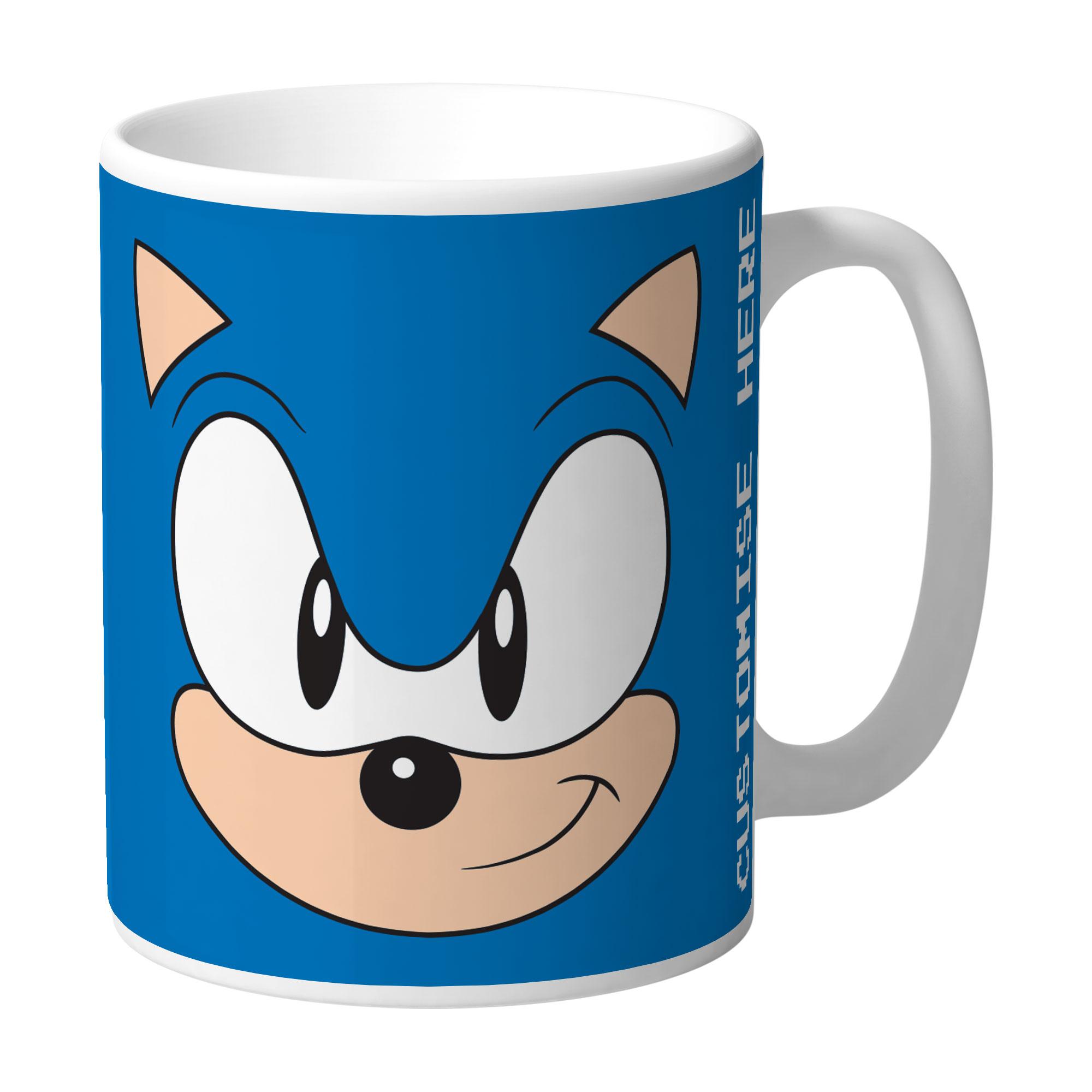 Mug - Sonic Face - Classic Sonic