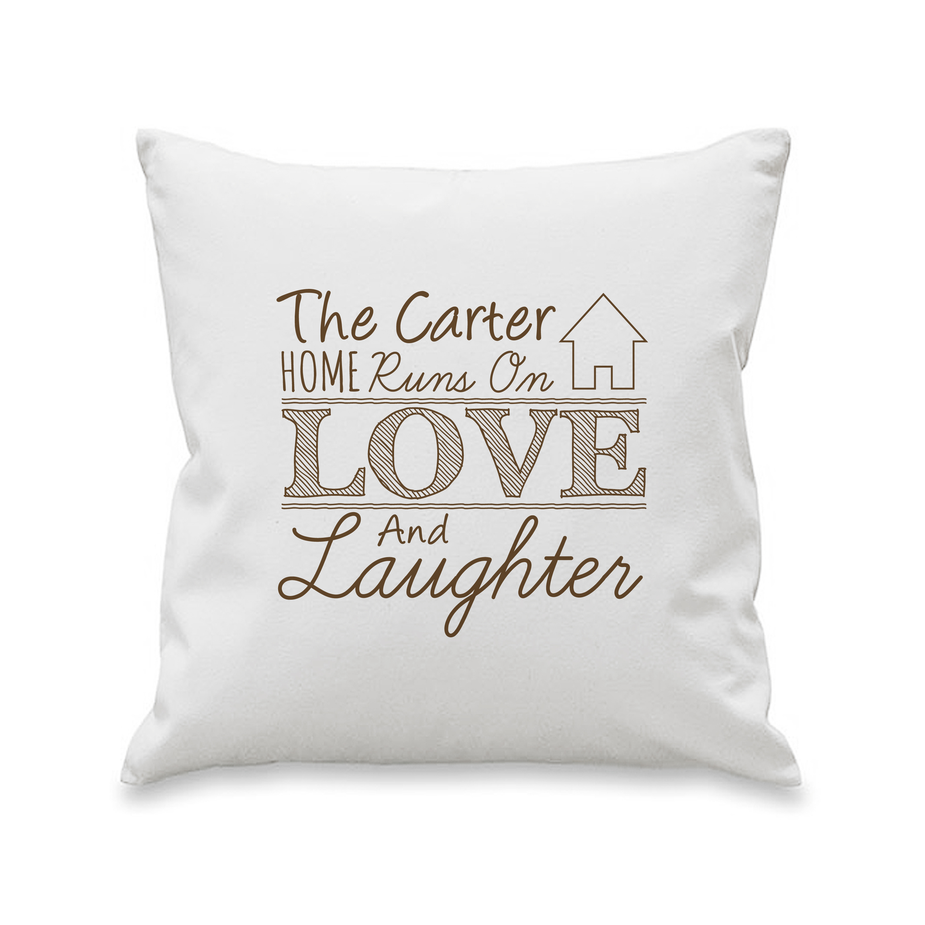 Love & Laughter Cushion Cover