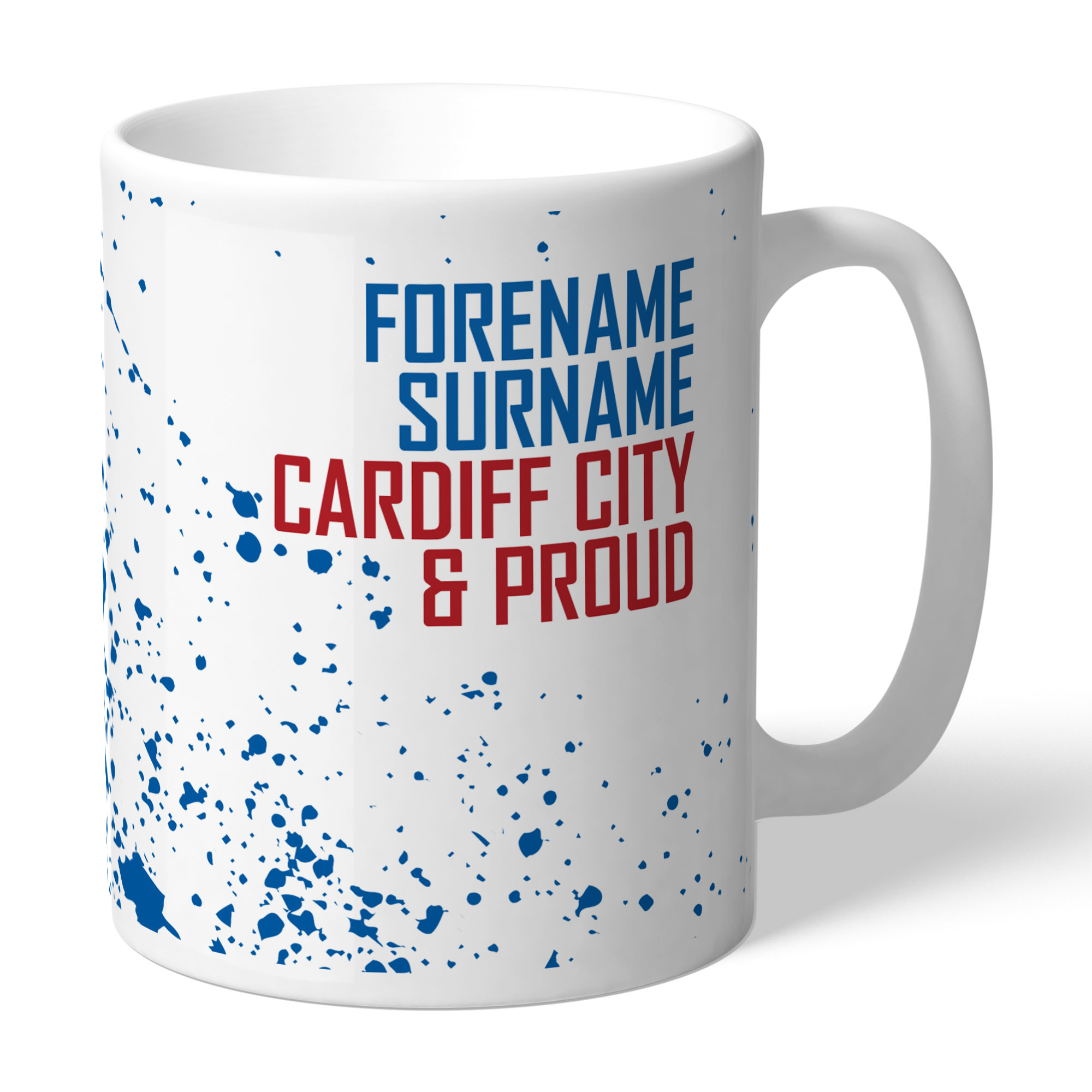 Cardiff City FC Proud Mug